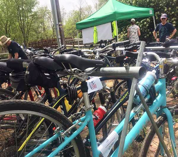 Shad Fest Bike Parking